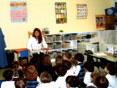 Dental Health Month Talks At Local Schools