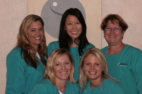 Springfield Lorton Dental Group hygiene staff.