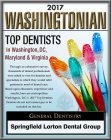 2017 Washingtonian - Top Dentists logo