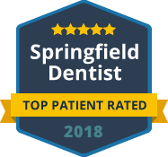 Springfield Dentist - Top Patient Rated 2018 logo