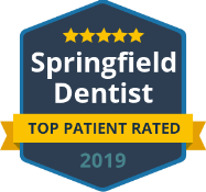 Springfield Dentist - Top Patient Rated 2019 logo